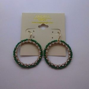 AMRITA SINGH Dangle Hoop Earrings